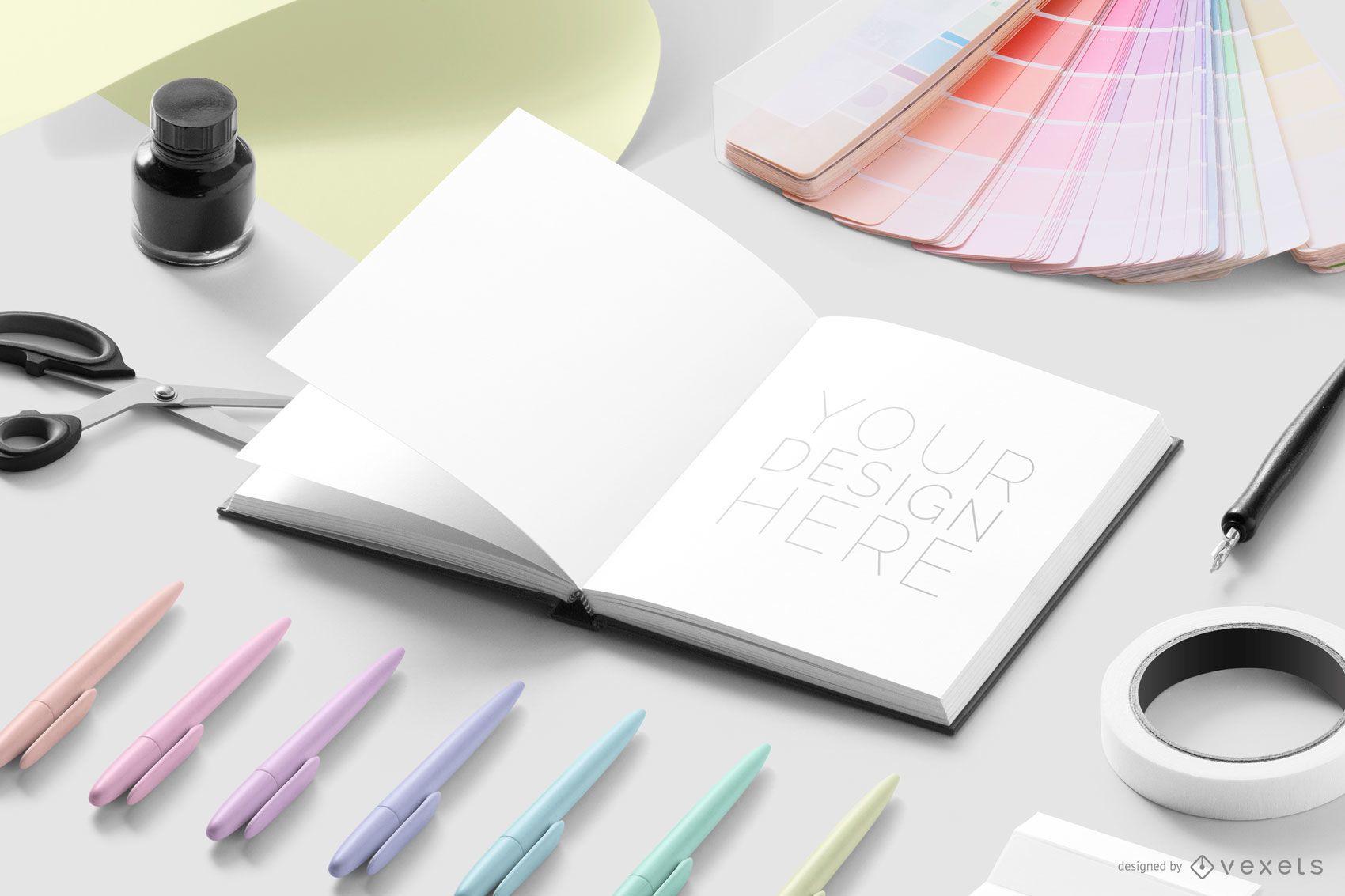 Open Notebook Designer Mockup