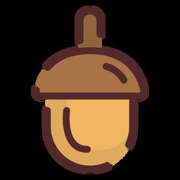 Acorn icon stroke