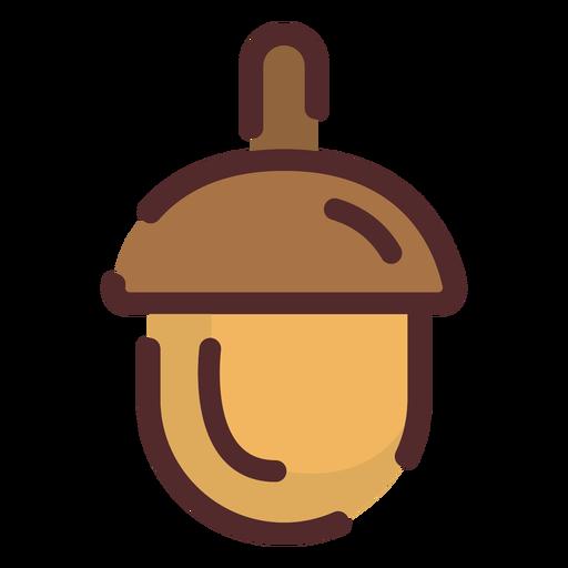 Acorn icon stroke Transparent PNG