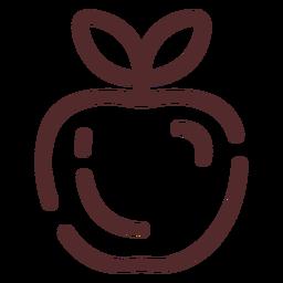 Curso de fruta da maçã