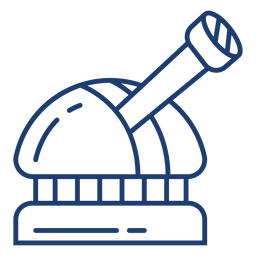 Astronomical observatory stroke