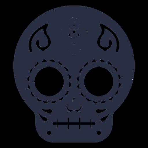 Calavera skull cross
