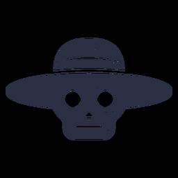 Sombrero calavera calavera