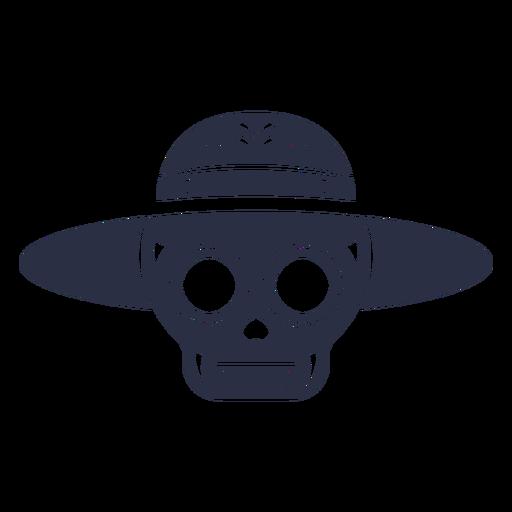 Calavera skull hat Transparent PNG