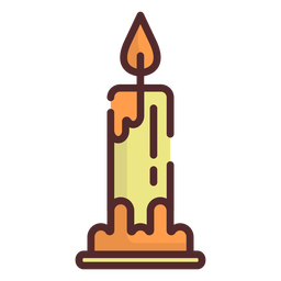 Candle icon stroke