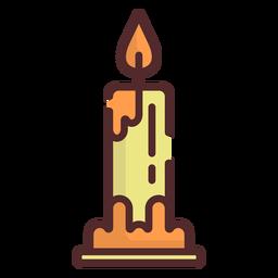 Icono de vela trazo