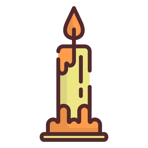 Candle icon stroke Transparent PNG