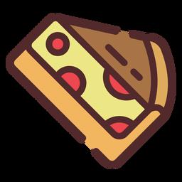 Trazo de icono de pastel de cereza