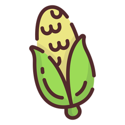 Curso de ícone de milho