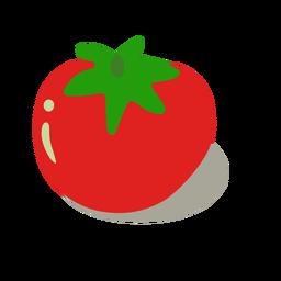 Delicioso tomate isométrico