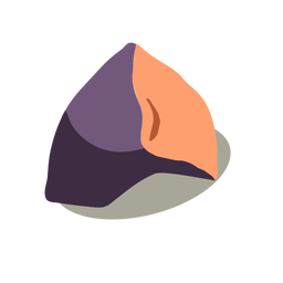Eggplant vegetable isometric