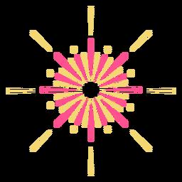 Firework dots sparks stroke