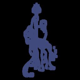 Griechischer Gott Poseidon