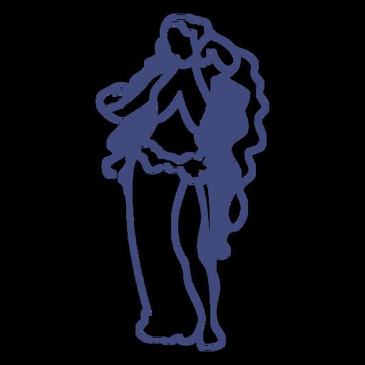 Diosa griega afrodita Transparent PNG