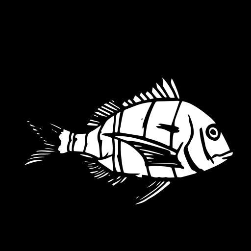 Peixe desenhado à mão Transparent PNG