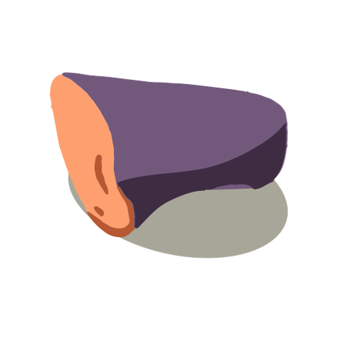 Healthy vegetable eggplant isometric Transparent PNG