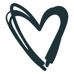 Heart pointy cute stroke