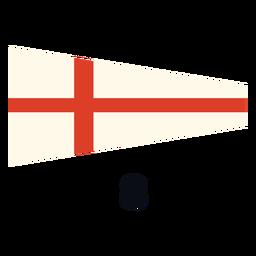 International maritime signal flag 8 flat