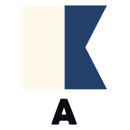 International maritime signal flag a flat
