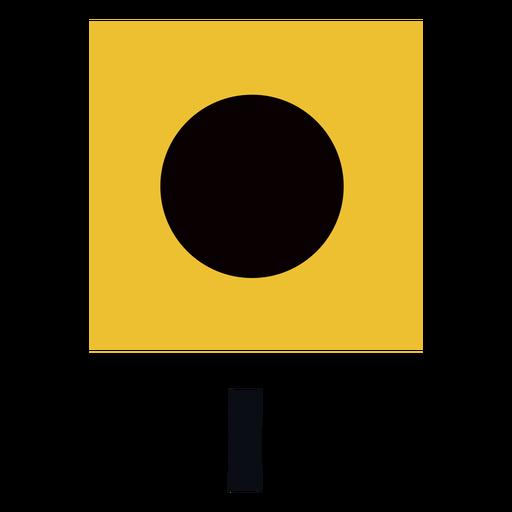 International maritime signal flag i flat