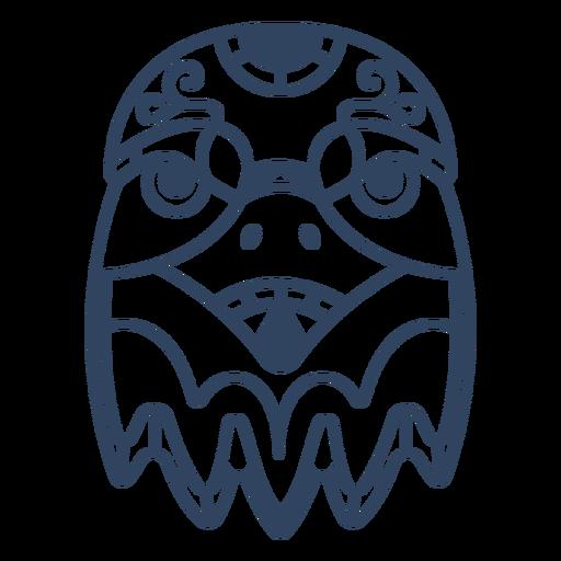 Mandala eagle animal stroke Transparent PNG