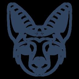 Curso de mandala raposa animal