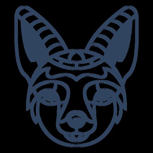 Curso de mandala raposa animal Transparent PNG