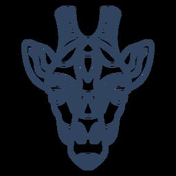 Curso de animal mandala girafa