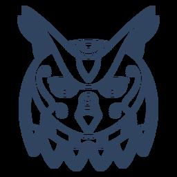 Curso de animal mandala coruja