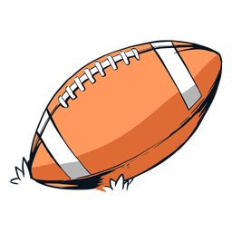Nfl football ball illustration