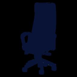 Silla de oficina silueta ergonómica