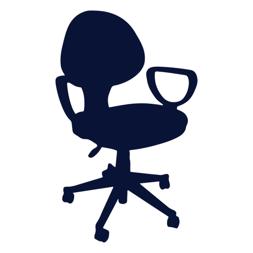 Office chair petite silhouette