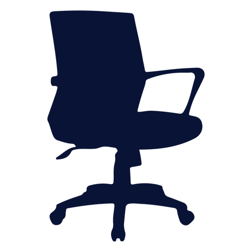 Office petite chair silhouette