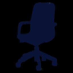 Petite Stuhl Büro Silhouette