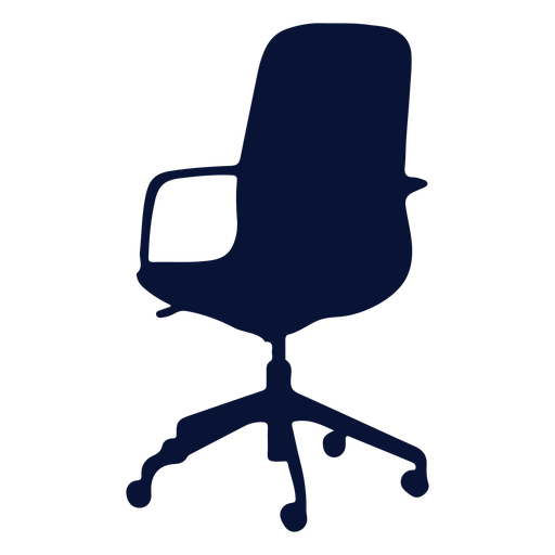 Petite chair office silhouette