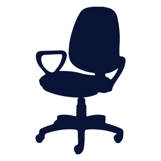 Petite office chair silhouette
