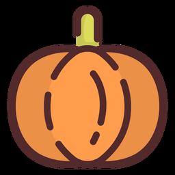 Pumpkin icon stroke