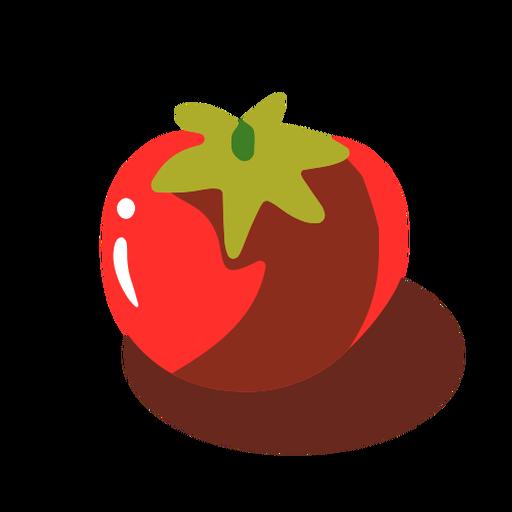 Red tomato isometric