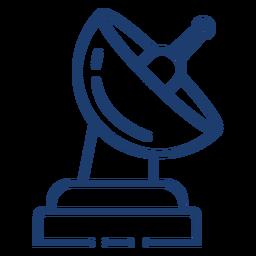 Curso da antena espacial