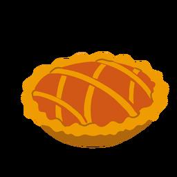Ilustración de pastel dulce