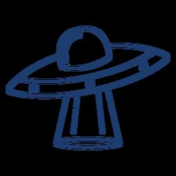 Golpe de nave espacial ovni