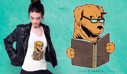 Estudando o design de t-shirt para cães