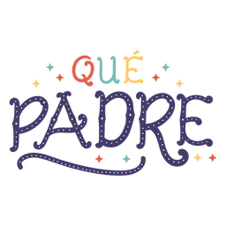 Cute father lettering