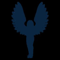 Os braços levantam o vetor do anjo