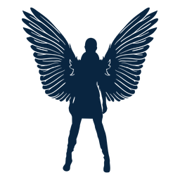 Vector de ángel impresionante