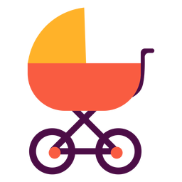 Carrinho de bebê liso