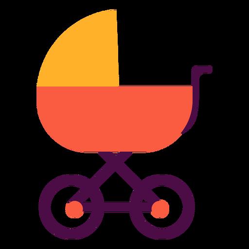 Carro de bebe plano