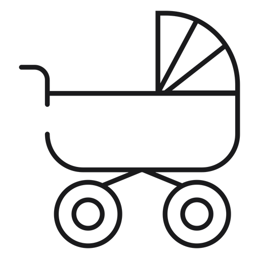 Baby carriage icon Transparent PNG