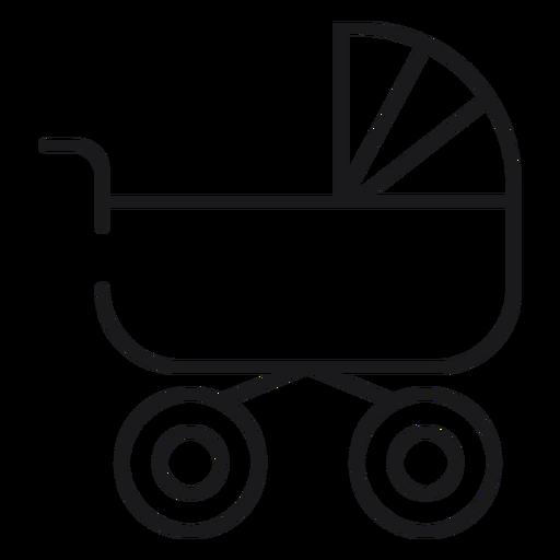Icono de carro de bebé