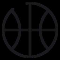 Ball toy icon